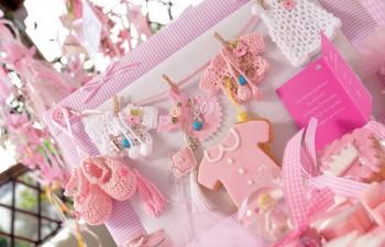 Διακόσμηση & μπισκότα για βάπτιση