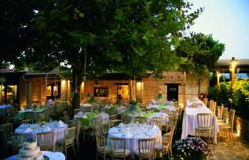 Delichef Creative Catering:  Καλοκαιρινή δεξίωση στο Κτήµα Club Polydroso