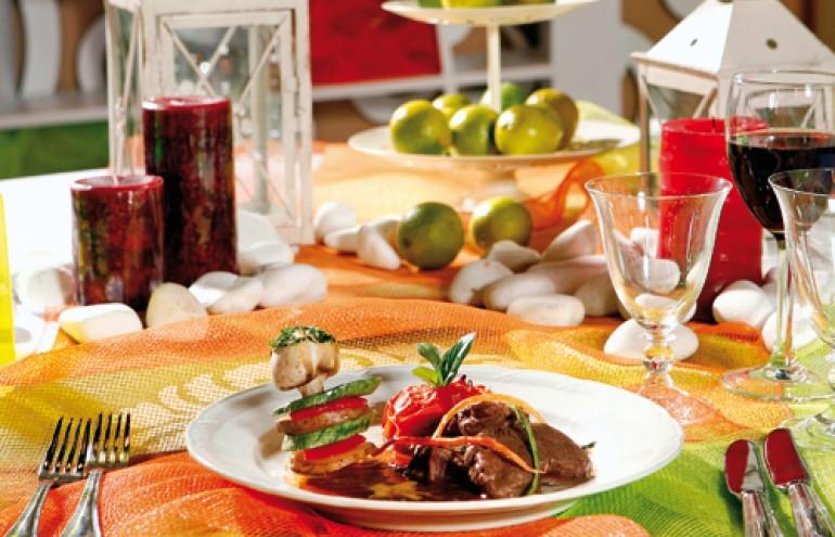 Αrt de la table με φίνα σερβίτσια