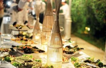 Food and Style: Παρουσίαση salad bar σε buffet