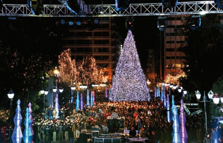Mουσική επιμέλεια στο ρεβεγιόν Πρωτοχρονιάς του Δήμου Αθηναίων στο Σύνταγμα